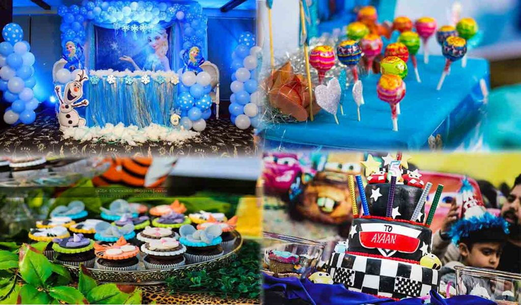 birthday planner, birthday planner in lahore, birthay themes