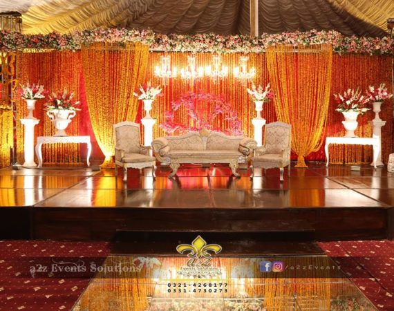 wedding stage, mehndi stage