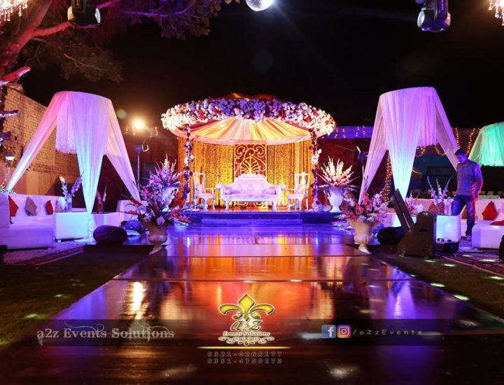 open air event, mehndi decor, wedding setup, oudoor mehndi event, decor experts