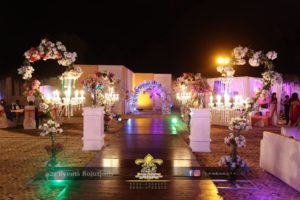 decor experts, walkway decor, wedding decor specialists