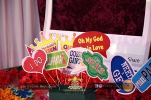 creative planners, props ideas, wedding props, customized props