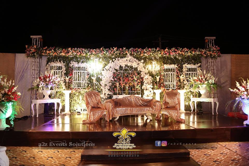 grand engagement stage, wedding stages