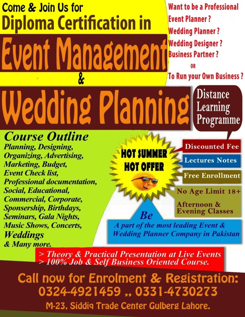 Event Management Course And Training Workshop A2z Events Solutions