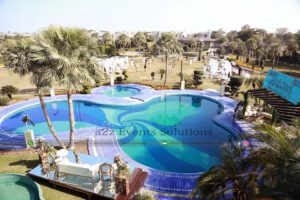 vip walima setup, outdoor event, open air event