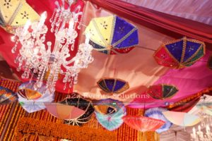 decor specialists, mehndi decor, hanging garden, new touch