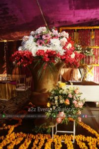 imported and fresh flowers decor