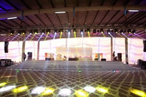 corporate stage, stages designers in lahore