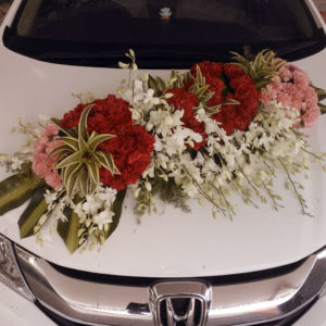 car decor specialists, imported flowers decor