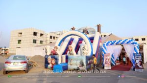 jumping castle service providers, balloons decor
