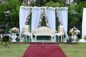 stages decorators, western style stage, stages designers, wedding stage