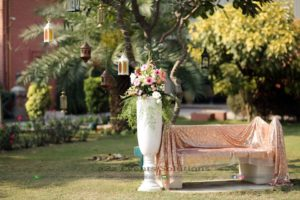 fresh and imported flowers decor, themed wedding