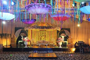 dome stage, mehndi stage, stages desginers, stage decor