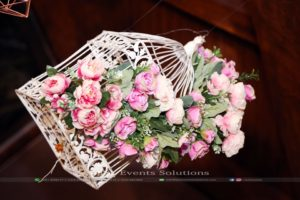 imported flowers decor, hanging garden