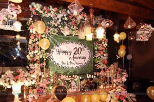 stages designers, stage decor, floral backdrop, thematic backdrop
