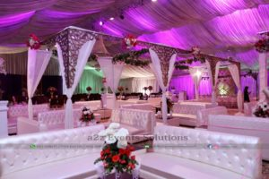 best caterers in lahore, vip setup