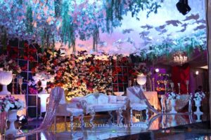 stage decor, wedding stages