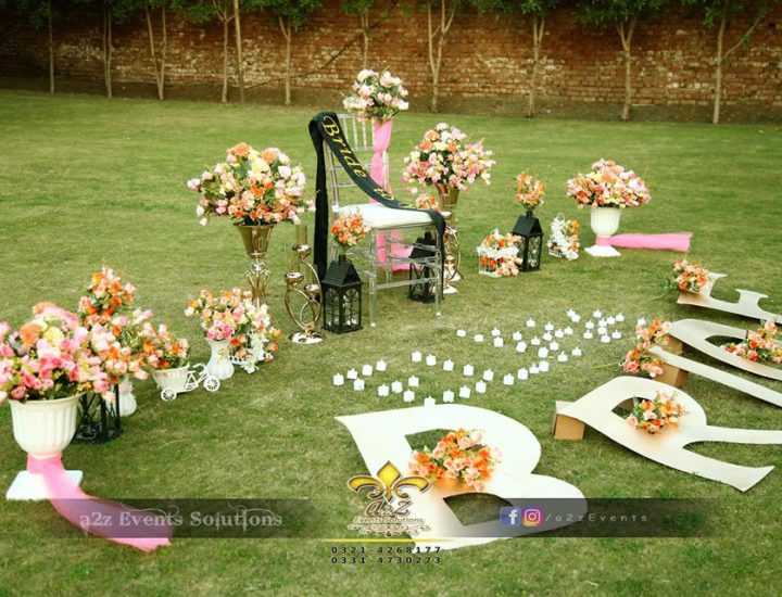 bridal shower setup, bridal shower decor experts