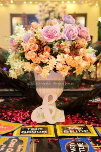 imported flowers, wedding decor, decor specialists, a2z events solution management