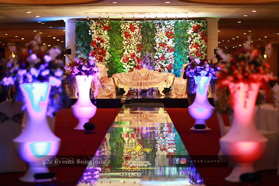 walima backdrop, wedding designers and planners