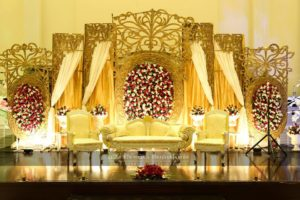 stages desginers in lahore, grand vip walima stage