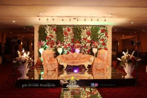 stages designers in lahore, walima stage, creative planners, wedding designers