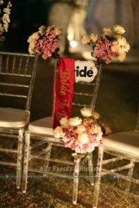 chair for bride to be, decorative chair