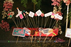 customized props, bridal shower props