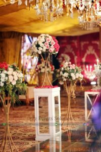 area decor, fresh and imported flowers decor