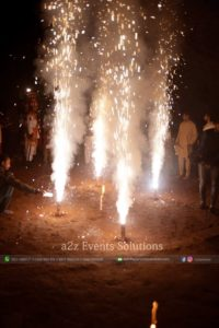 event planner and organizer, fireworks service providers