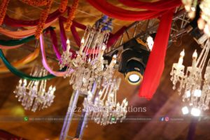 chandeliers, event planners and designers