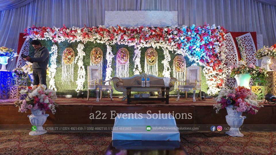 stage decor, grand stage, decor experts, decor specialists