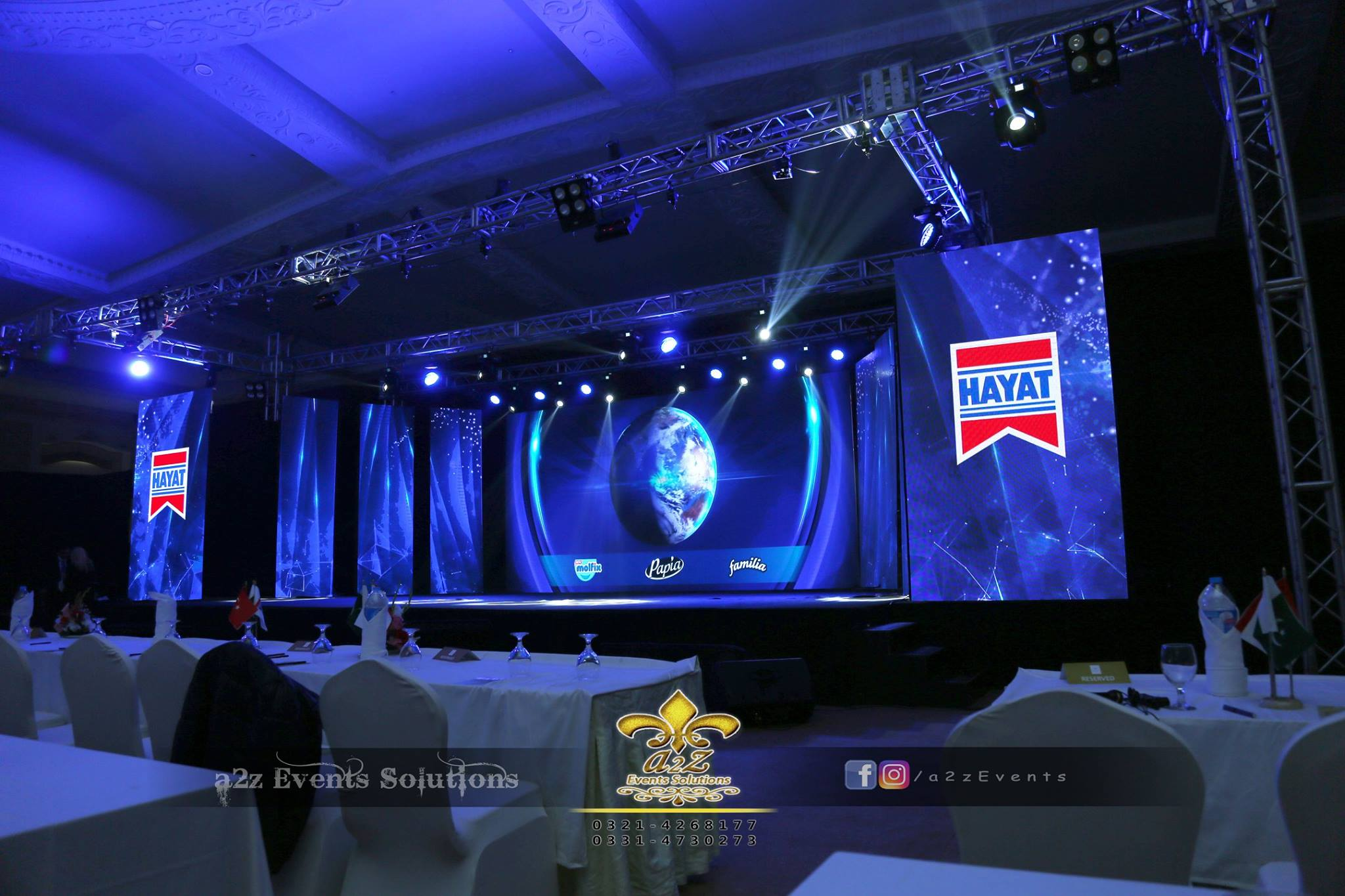 grand stage, stages designers in lahore