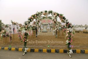 entrance decor, event planners and designers
