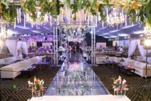 grand wedding setup, best caterers in lahore