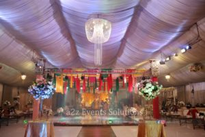 wedding setup, mayoun setup, caterers in lahore, wedding management company in lahore