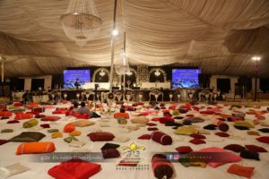 event planners and organizers, grand milad setup designers