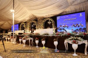 stages designers in lahore, mehfil-e-milad stage