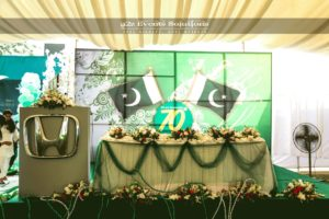 themed stage, decor experts