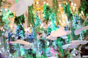 hanging garden, wedding decor specialists and experts