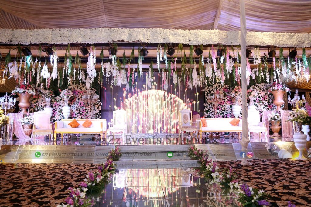 grand stage, walima stage, vip stage, wedding stage, smd screen stage, lighting
