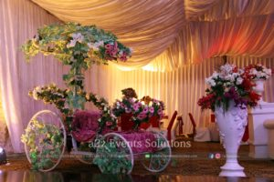 bridal cart service providers, thematic designers and decorators