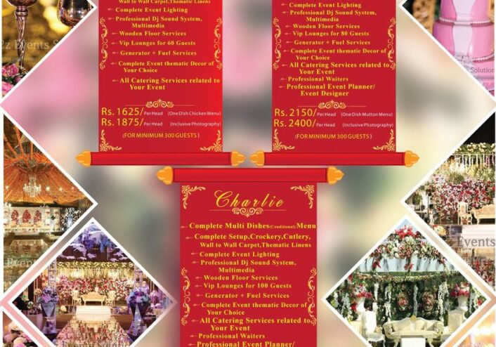 a2z events solutions packages