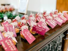 Cocktail kits for wedding favors