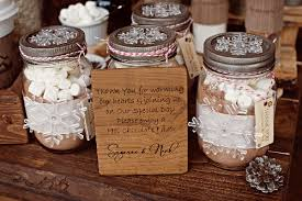 Hot cocoa mix for wedding favors