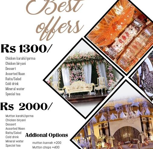 affordable wedding packages by a2z events