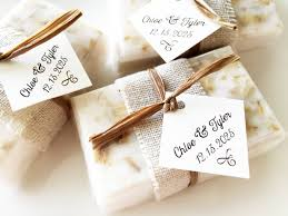 Handmade soaps for wedding favors