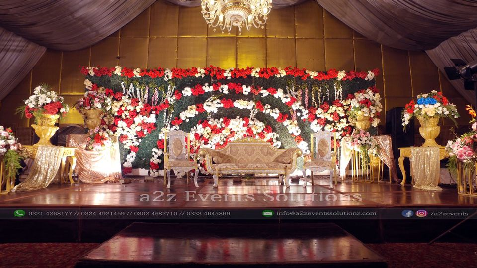 stages designers in lahore, grand wedding setup planners