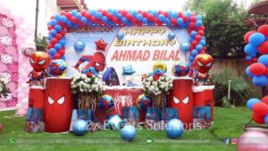 themed stage, outdoor event
