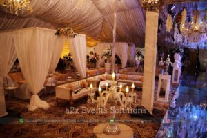 vip setup, best caterers in lahore