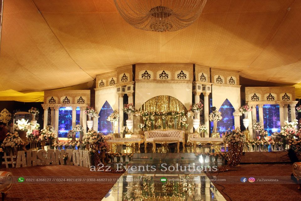 wedding stage, stages designers in lahore